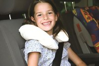 Neck cushion with cover